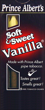 Prince Albert Soft &amp; Sweet Vanilla 10 - /5pks