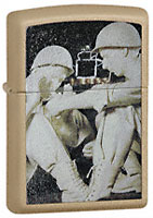 ZIPPO MC HEROES TRIBUTE - CASHMERE CRACKLE