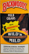 BACKWOODS WILD and MILD ORIGINAL (5 PACKS OF 8 CIGARS)