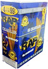 Rap Cigarillos Blueberry 4 - $0.99 15ct Box