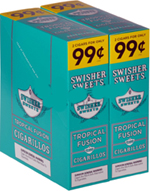Swisher Sweets Cigarillos 2 - $0.99 Tropical Fusion - 30 - 2ct