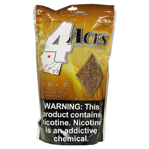 4 Aces Gold 6oz Pipe Tobacco