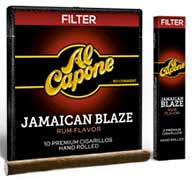 Al Capone Jamaican Blaze Filtered Cigars