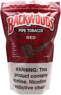 Backwoods Pipe Tobacco Red 16oz