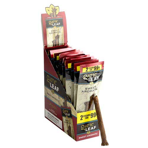 Game Leaf Cigarillos Sweet Aromatic 15ct