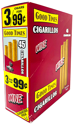 Good Times Cigarillos Wine 15ct
