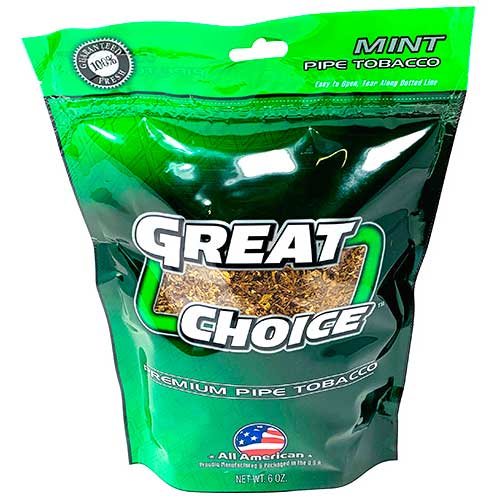 Great Choice Pipe Tobacco Green 6oz
