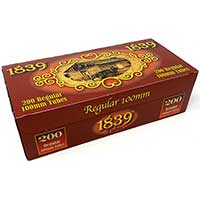 1839 Red 100 Cigarette Tubes 200ct