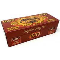 1839 Red King Size Cigarette Tubes 200ct