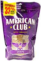 American Club Grape 16oz Pipe Tobacco