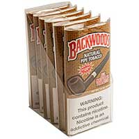 Backwoods Pipe Tobacco Buttered Rum 6 1.5oz Packs