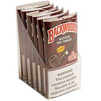 Backwoods Pipe Tobacco Cherry 6 1.5oz Packs