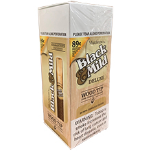 Black and Mild Deluxe Wood Tip Cigars 25ct Box