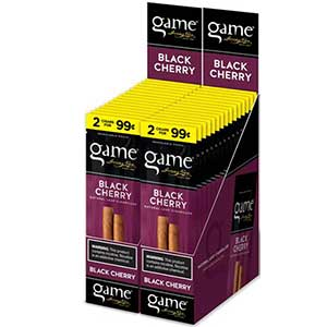 Game Cigarillos Black Cherry 30ct