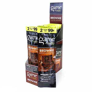 Game Cigarillos Brownie 15ct