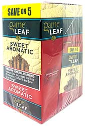 Game Leaf Sweet Aromatic 8 5pks