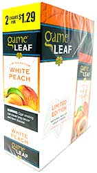 Game Leaf White Peach 15 2pks