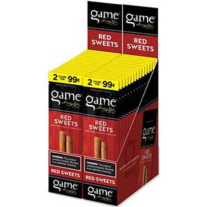 Game Cigarillos Red 30ct