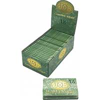 Job Organic Hemp 1.5 Rolling Papers 24ct Box