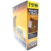 Night Owl Tropical Pipe Tobacco Cigars 30ct