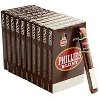 Phillies Blunt Chocolate 10 5pks
