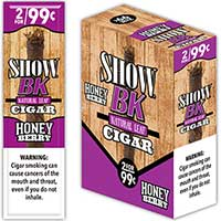 Show BK Honey Berry Natural Leaf Cigars 15 2pks