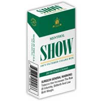 Show Little Cigars Menthol 100