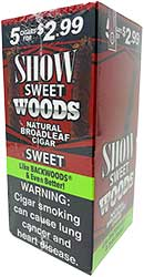 Show Woods Sweet Cigars 8 5pks