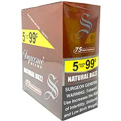 Supreme Blend Cigarillos Natural Buzz 15ct
