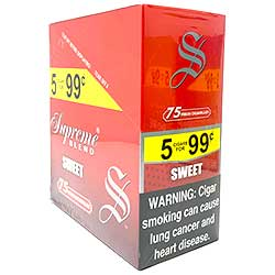 Supreme Blend Cigarillos Sweet 15ct