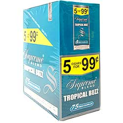 Supreme Blend Cigarillos Tropical Buzz 15ct
