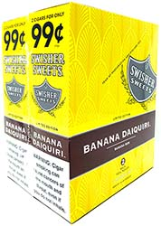 Swisher Sweets Cigarillos Banana Daiquiri