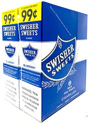 Swisher Sweets Cigarillos Blueberry