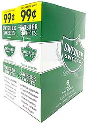Swisher Sweets Cigarillos Green Sweets