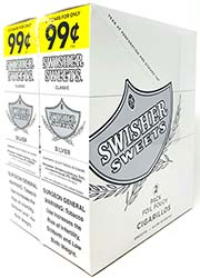 Swisher Sweets Cigarillos Silver
