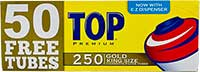 Top Cigarette Tubes Gold King 250ct