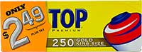 Top Cigarette Tubes PP 2.49 Gold King 250ct