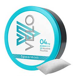 VELO Nicotine Pouches Spearmint 4mg 5ct