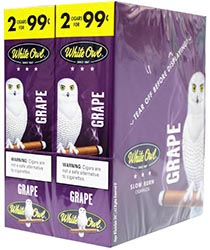 White Owl Cigarillos Grape 30ct