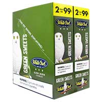 White Owl Cigarillos Green Sweets 30ct