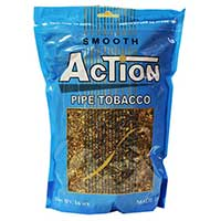 Action Smooth 16oz Pipe Tobacco