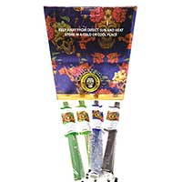 Blunt Gold Hand Dipped Incense 72 Pouch Display