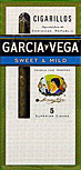 GARCIA Y VEGA CIGARILLOS SWEET and MILD 10 5 PKS