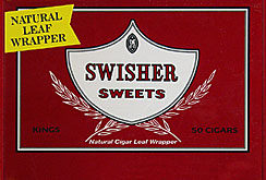SWISHER SWEETS KINGS (NATURAL LEAF) 50CT BOX