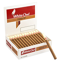 White Owl Demi Tip 50ct Box