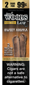 Good Times Sweet Woods Leaf Sweet Aroma 15ct