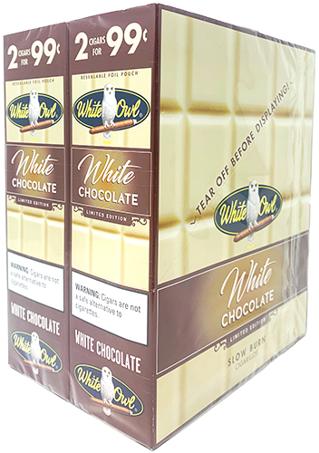 White Owl Cigarillos White Chocolate 30ct