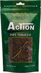 Action Mint 6oz Pipe Tobacco