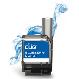 Cue Vapor Refill Cartridge Blueberry Donut 3mg