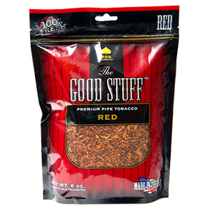 Good Stuff Red Pipe Tobacco 6oz